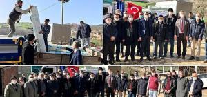 Kocaeli Büyükşehir Belediyesi'nin sera naylonu dağıtımı devam ediyor