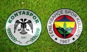 Konyaspor-Fenerbahçe karşı karşıya