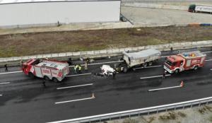 Kuzey Marmara Otoyolu'nda feci kaza: 1 ölü