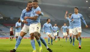 Manchester City, Premier Lig'de üste üste 15. galibiyetini aldı