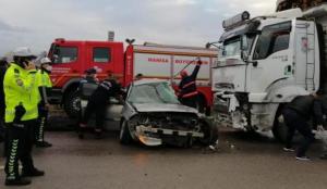 Manisa'da feci kaza: 3 kişi hayatını kaybetti