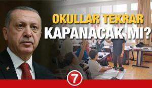 MEB Okullar tekrar kapanır mı 2021? Cumhurbaşkanı Erdoğan'dan Kabine Toplantısı sonrası…