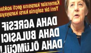 Merkel uyardı: Fazla vaktimiz yok, harekete geçilmezse…
