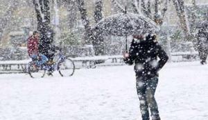 Meteoroloji 5 il için uyardı! Kar geliyor…