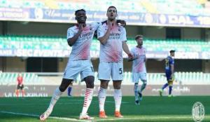 Milan'dan Hellas Verona deplasmanında kritik galibiyet