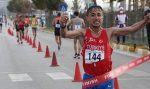 Milli atlet Salih Korkmaz ve Meryem Bekmez'den yeni rekor
