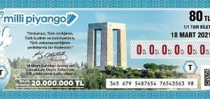 Milli Piyango 18 Mart özel çekilişinde büyük ikramiye 20 milyon TL!