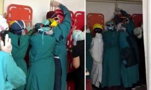 Sağlık çalışanlarına saldıranlara ilk duruşmada tahliye