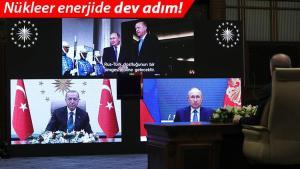 Son dakika… Nükleer güçte dev adım! Erdoğan: 4 bin şahsa istihdam… Putin: Yeni bir devir başlıyor