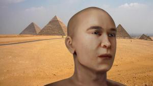 Tarihi ayrıntı keşfedildi: Yüzü 12 bin yıl sonra yine canlandırıldı