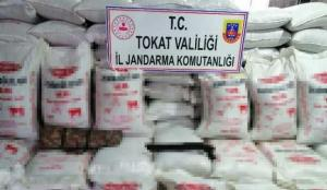 Tokat'ta sahte hayvan yemi ele geçirildi: Piyasa değeri 120 bin lira