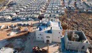 Türkiye Diyanet Vakfı şubelerinden İdlib'e konut seferberliği