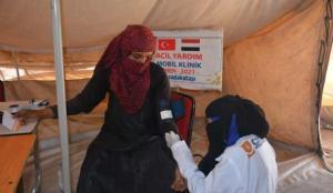 Türkiye'den Yemen'e sağlık desteği