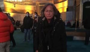 Ünlü milyarder Hadid, Ayasofya Camii'nde namaz kıldı