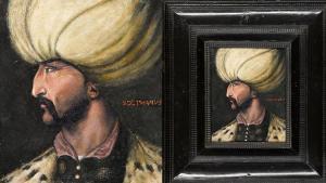 Yasal Sultan Süleyman'ın portesi açık artırmada satılacak!