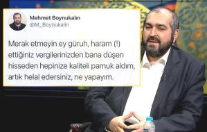Ayasofya'nın 'Devrik' İmamı Yine Rahat Duramadı: 'Haram Vergilerinizden Hepinize Kaliteli Pamuk Aldım'