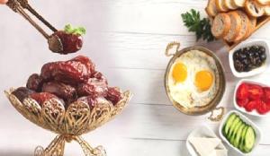 Ramazan'da sağlıklı beslenmenin püf noktaları! Örnek Ramazan menüsü