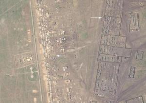 Rusya'nın Savaş Planı Uydu Görüntüleriyle Ortaya Çıktı: Kırım'ın Güneyinde Kamp Kurulmuş