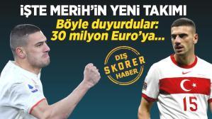 Son dakika transfer haberleri: Merih Demiral'ın yeni takımını duyurdular! 30 milyon Euro karşılığında transfer bitiyor…