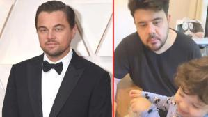 Eser Yenenler'in Leonardo DiCaprio'yu babası zanneden oğluna verdiği tepki herkesi kahkahaya boğdu