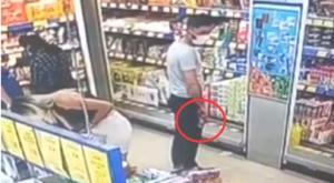 Markette alışveriş yapan kadının etek altı fotoğrafını çeken şüpheli serbest bırakıldı