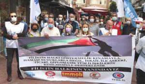 Samsun'dan Filistin'e destek
