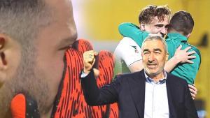 Son dakika – Samet Aybaba fırtınası, omuzlarına aldılar! Maç sonu gözyaşlarını tutamadı