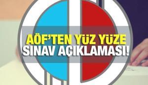 Anadolu Üniversitesinden kritik yüz yüze sınav açıklaması! 2021 AÖF yaz okulu ve sınavlar ne zaman?