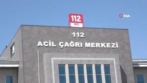 """Bingöl'de """"112 Acil Çağrı Merkezi"""" hizmete girdi"""