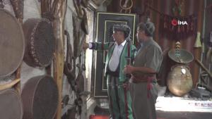 Çöplükten arındırılıp müzeye dönüştürülen ev yörenin bin yıllık yaşantısını yansıtıyor
