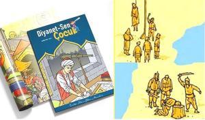 Diyanet-Sen'in Skandal Görsellerin Yer Aldığı Çocuk Dergisi İçin Suç Duyurusu