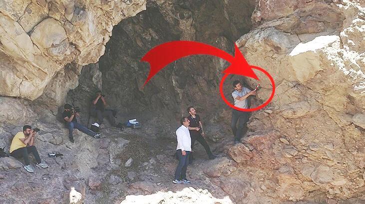Erzurum'da kayalarda bulundu! 'İlk defa keşfedildi'