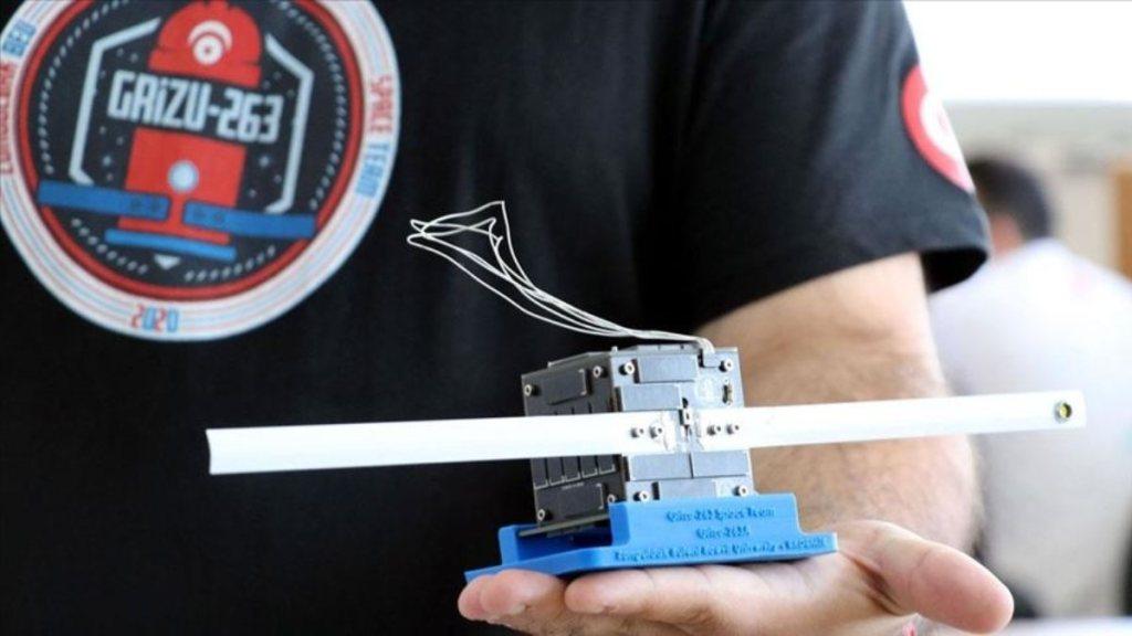 Grizu-263 Uzay Takımı, NASA'nın desteklediği uydu yarışmasında 4. oldu