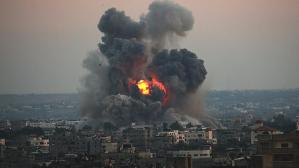 İkinci kez ateşkesi ihlal ettiler! İsrail'den Gazze'ye hava saldırısı