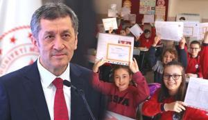 MEB Bakanı Ziya Selçuk'tan kritik karne açıklaması! İkinci dönem karneleri basılı mı verilecek?