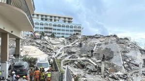 Miami'de çöken 12 katlı binada ölenlerin sayısı 4'e çıktı, 159 kişiden haber alınamıyor