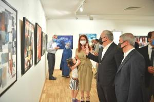 Namevcut sergisi sanatseverlerle buluştu