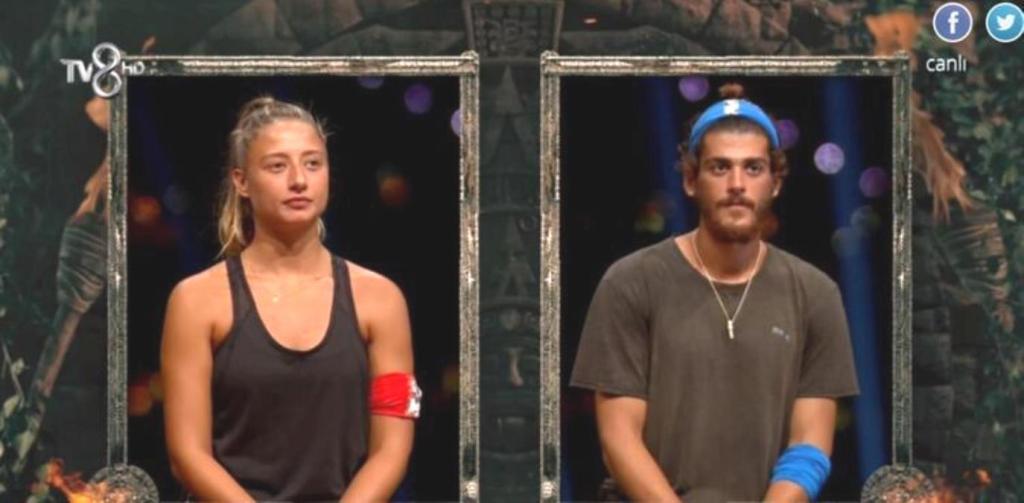 Nefes kesen oylama bitti! Aleyna'yı yenen Yiğit Poyraz, Survivor'da yarı finale kaldı