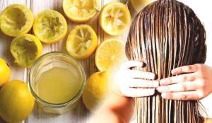 Sirke ve limonun saça faydaları nelerdir? Limon saç dökülmesini önler mi?