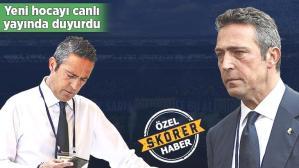 Son dakika haberi: Canlı yayında Fenerbahçe'nin yeni hocasını duyurdu: Olma ihtimali çok yüksek!