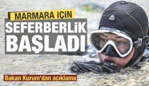 Son dakika: Müsilaj için Türkiye'nin en büyük seferberliği! Ünlü isimlerden destek
