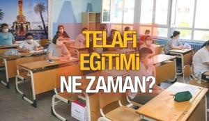 Telafi eğitimi ne zaman ? MEB telafi eğitimlerine başlıyor! Yazın okullar açık olacak!