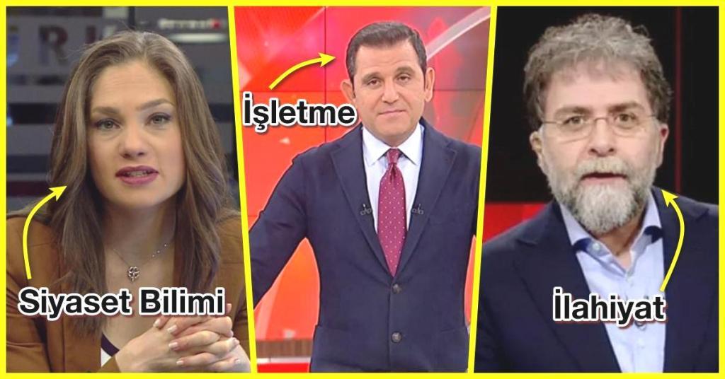 Türkiye'deki Ünlü Gazetecilerin Mezun Oldukları Okullar