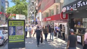 Vakaların azaldığı Zonguldak'ta vatandaşlar kurallara uyuyor