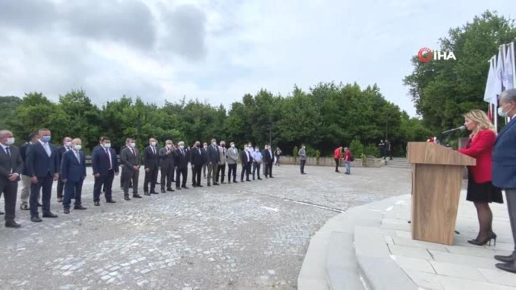 Zonguldak'ın kurtuluşu törenlerle kutlandı