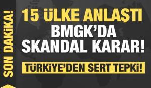 15 ülke anlaştı! BMGK'da skandal karar! Türkiye'den jet yanıt!