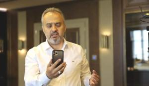 Alinur Aktaş'tan anlamlı telefon: Evi yanan vatandaşla görüştü