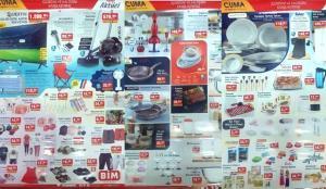 BİM 6 Ağustos Aktüel Ürünler Kataloğu! LCD TV, Süpürüge, Tekstil, Kamp Sandalyesi, Mutfak ürünlerinde