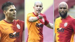 Galatasaray'da 16 milyon euroluk kriz! Falcao, Feghouli ve Babel başa bela oldu