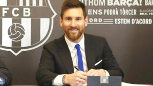 Lionel Messi, yüzde 50 maaş kesintisiyle Barcelona'nın 5 yıllık teklifine 'evet' dedi